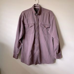 Vintage Campus Crew Men's Button Down Shirt